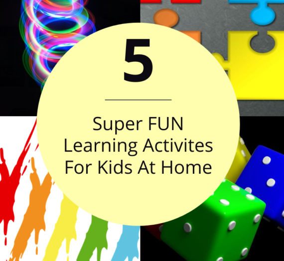 Learning Activities for Kids at Home | 5 FUN Budget-Friendly Activities