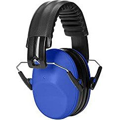 AmazonBasics Kids Ear Protection Safety Noise Ear Muffs