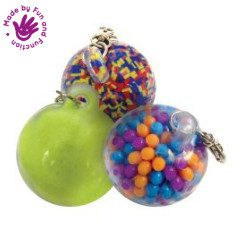 FIDGET KEY CHAIN BALLS