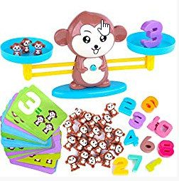 Monkey Balance Cool Math Game for Boys & Girls