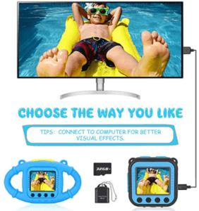 VanTop-Junior-K3-Kids-Camera-1080P-Supported-Waterproof-Video-Camera