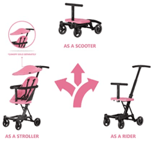 Dream-On-Me-Coast-Stroller-Rider