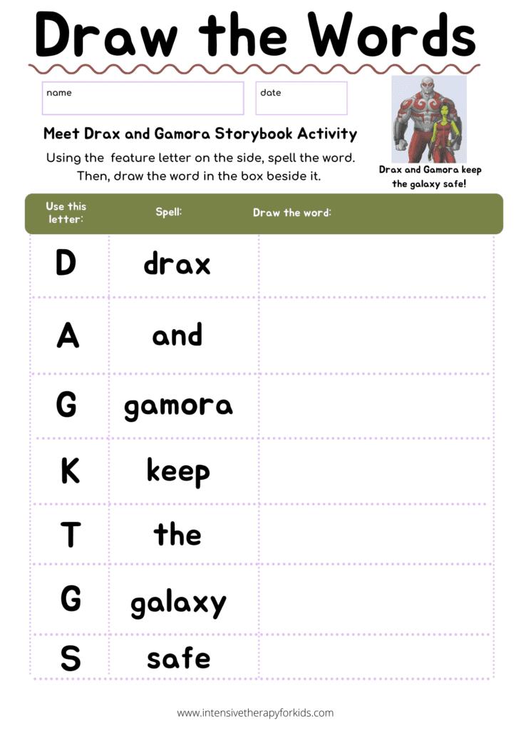 Meet-Drax-and-Gamora-Storybook-Activity