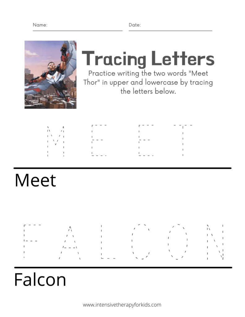 Meet-Falcon-Tracing-Letters-Activity