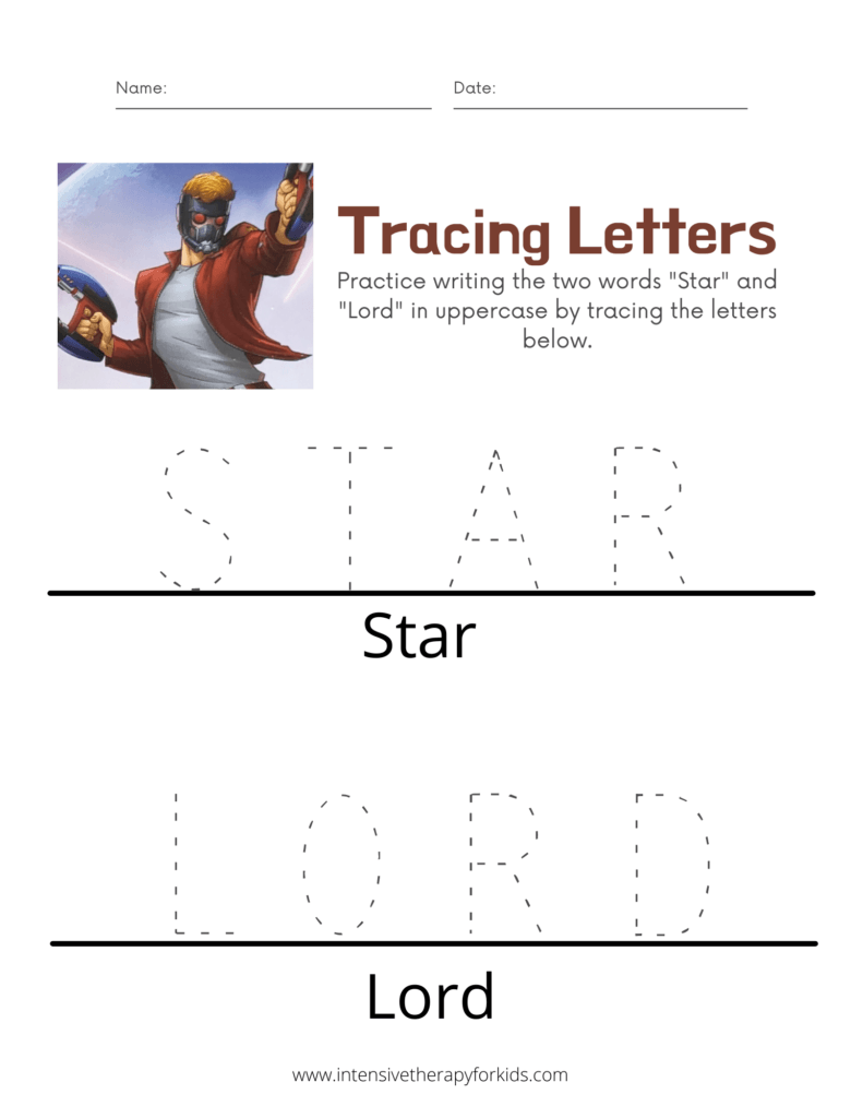 Star-Lord-Tracing-Letters-Activity