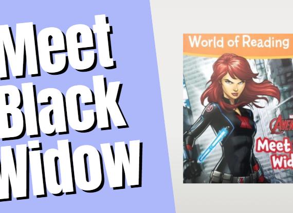 Superhero Read Aloud (Meet Black Widow)