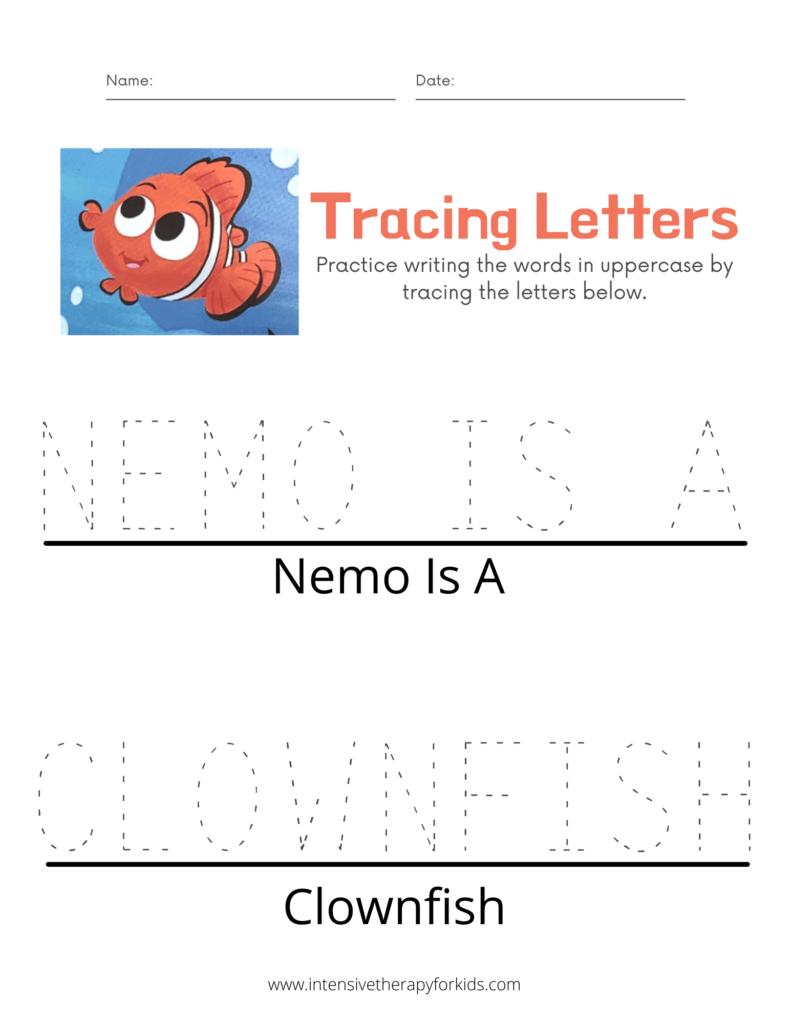 Finding-Nemo-Storybook-Activity