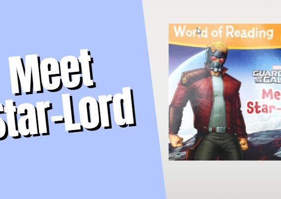 Superhero Read Aloud (Meet Star-Lord)