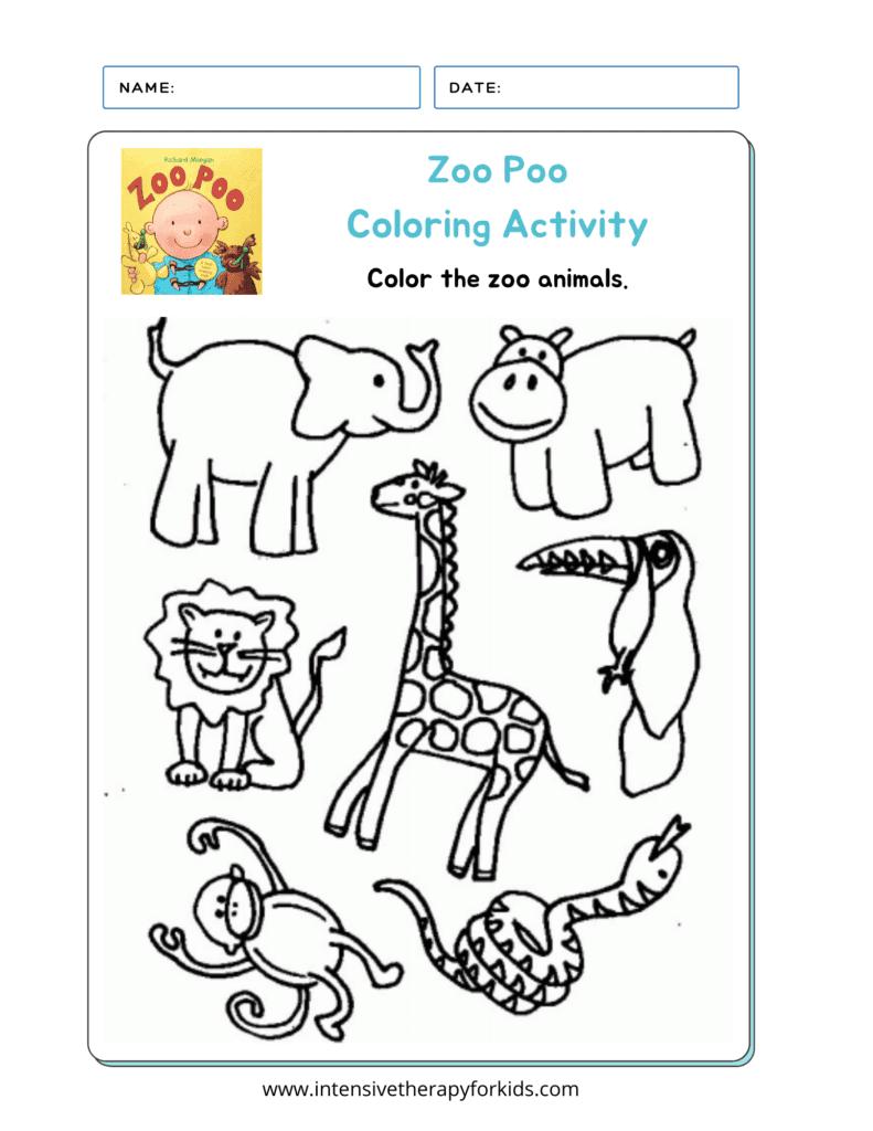 Zoo-Poo-Coloring-Activity