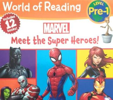 Read Aloud for Kids – Meet 12 Marvel Avengers Superheroes
