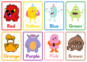 Monster Memory Game Printable Activity